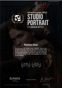 Osalesin 35photo. ru stuudio portree võistlusel ja tulemus üllatas mind