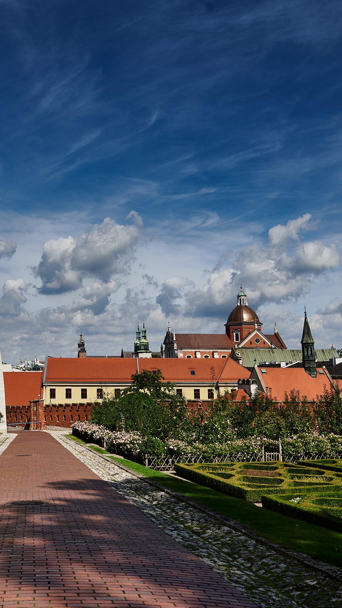 Poola ringreis, Krakowi külastus, Waweli  kuningaloss